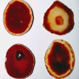Red Agate Slice